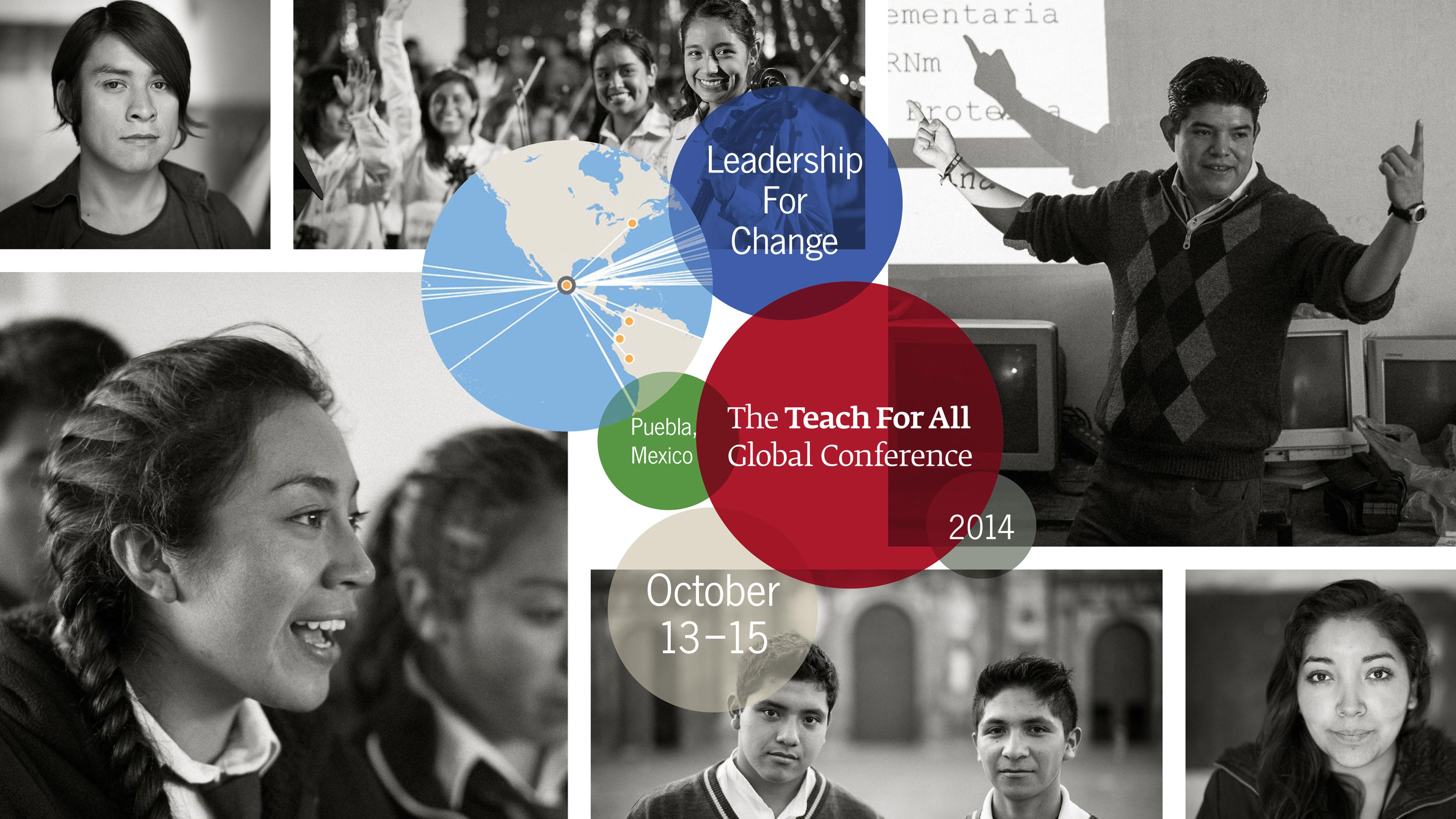 2014 Teach For All Global Conference poster